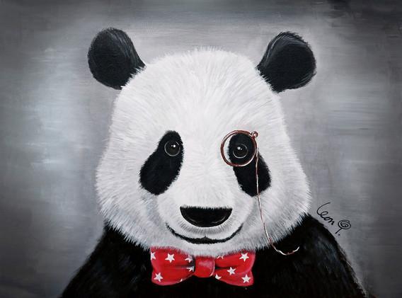 Leon Lollipop - Mr. Pandada  (60cm x 50c