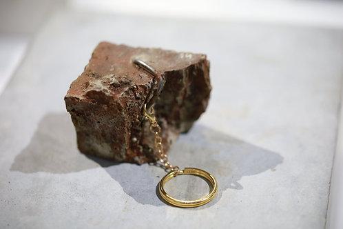 Haley Sin - Broken Bricks Keychain