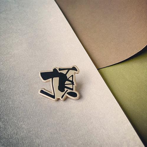 Kitman勁揪體(頂)金屬襟章