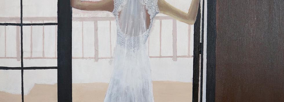 Dora Lee - Wow, Acrylic on Canvas, 60cm