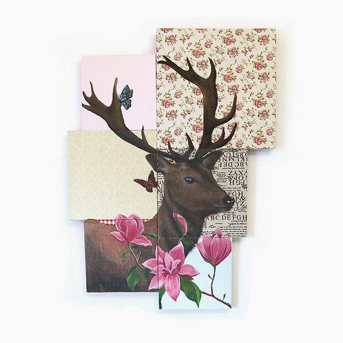 Deer Mosaic by Leonlollipop