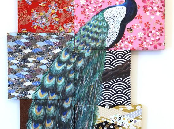 Leon Lollipop Peacock Mosaic (70cm x 95c