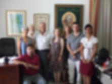 Grupo de ponentes y directores del Curso