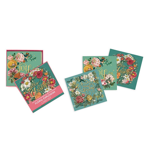 Floral Explosion Deluxe Card Set