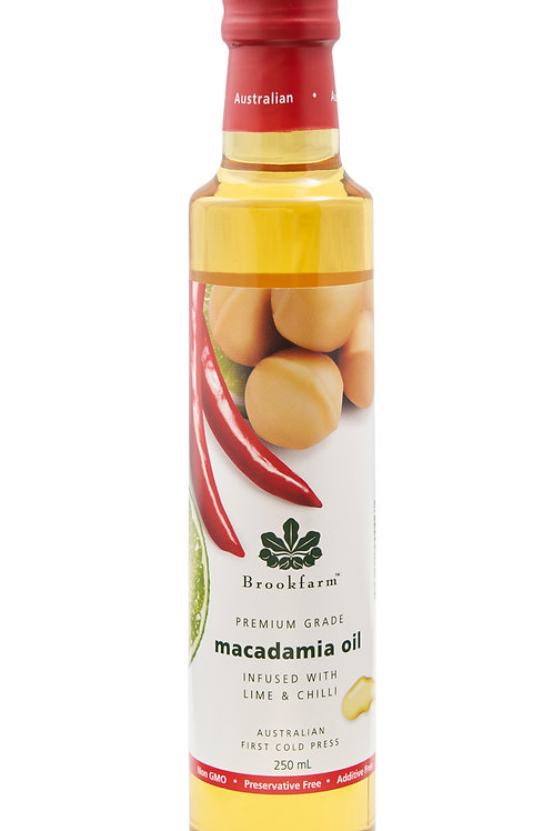 Macadamia Oil Infused with Lime & Chilli