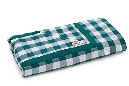 Green Posh Picnic Blanket