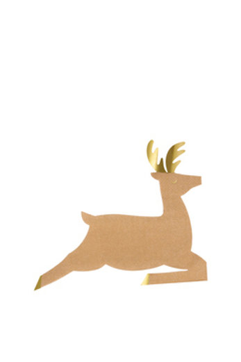 Leaping Reindeer Napkins (set of 16)