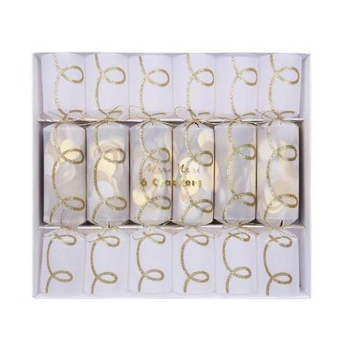 Confetti Christmas Crackers (set of 6)