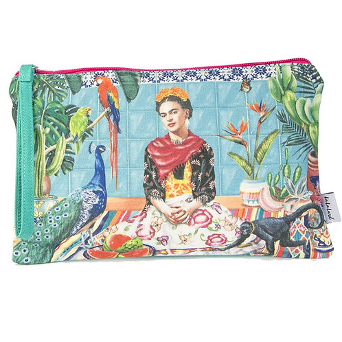 Frida's Paradise Clutch Purse