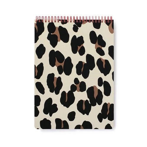 Kate Spade Forest Feline Spiral Notebook