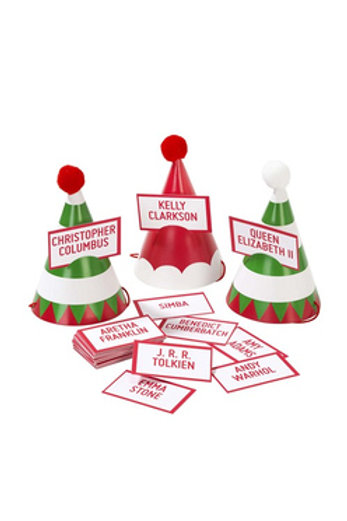 Christmas Party  Hat Game (set of 6)