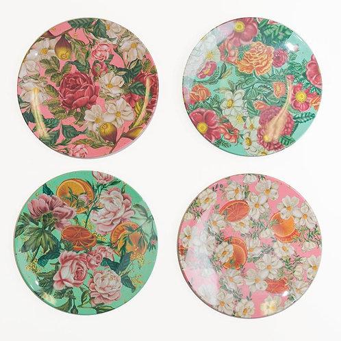 Floral Explosion Plate Set