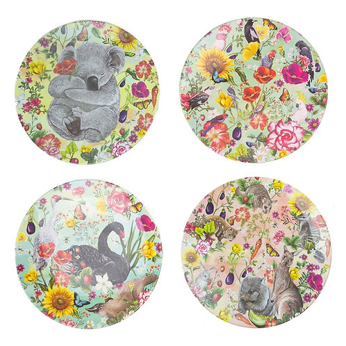 Secret Garden Plate Set