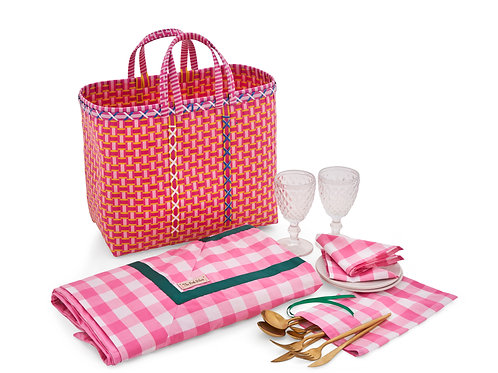 Chic-nic with Pink Gingham Collection