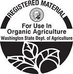 Washington organic certification.