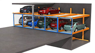 KLAUS Multiparking - Semi Automatic Parking Systems - TrendVario 6300