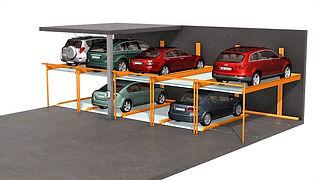 KLAUS Multiparking - Semi Automatic Parking Systems - TrendVario 6200