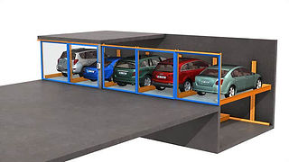 KLAUS Multiparking - Semi Automatic Parking Systems - TrendVario 6100