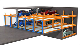 KLAUS Multiparking - Semi Automatic Parking Systems - TrendVario 6200+