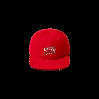 Uncool Snapback (Red)