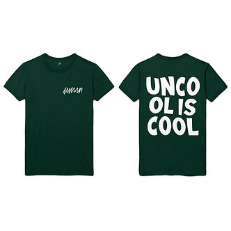 unBOLD Tee (forest green)