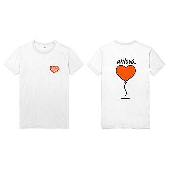 unLovin' Balloon Tee (Orange)