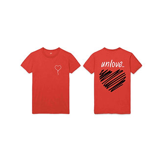'unlovin The Fall Tee (Sunset Orange)