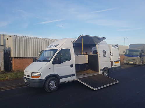 NOW SOLD - Renault Master 3.5ton Van Type Horse By Burley