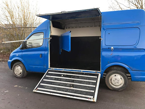 Low mileage 2008 3.5ton LDV Horsebox. Only 87k Miles