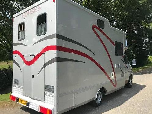 Compact 4.5Ton Mercedes Quality Coachbuilt Suitable For 18hh Horses