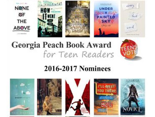 Georgia Peach Book Nominees 2016-17