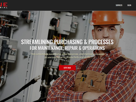 KRUE Industrial has a new website