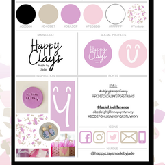 Happy Clays Style Guide
