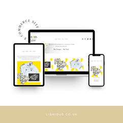 Lishious Design Create Website Design