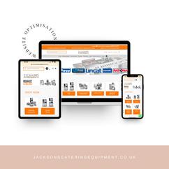 Jackson Catering Equipment Website Maintenance