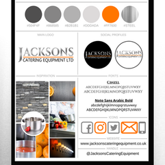 Jackson's Catering Equipment Style Guide