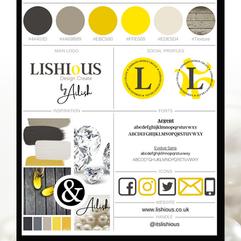 Lishious Design Create Style Guide