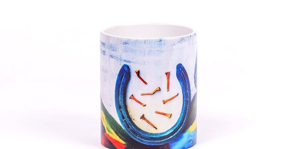 Lucky 7 Print Mug