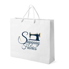 Shipquay Fabrics Shopping Bag Design
