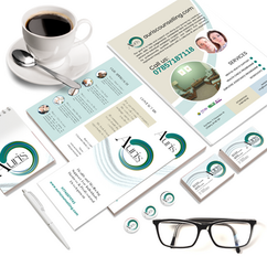 Auris Counselling Stationery Design