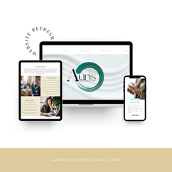 Auris Counselling & Mental Health Support Website Design