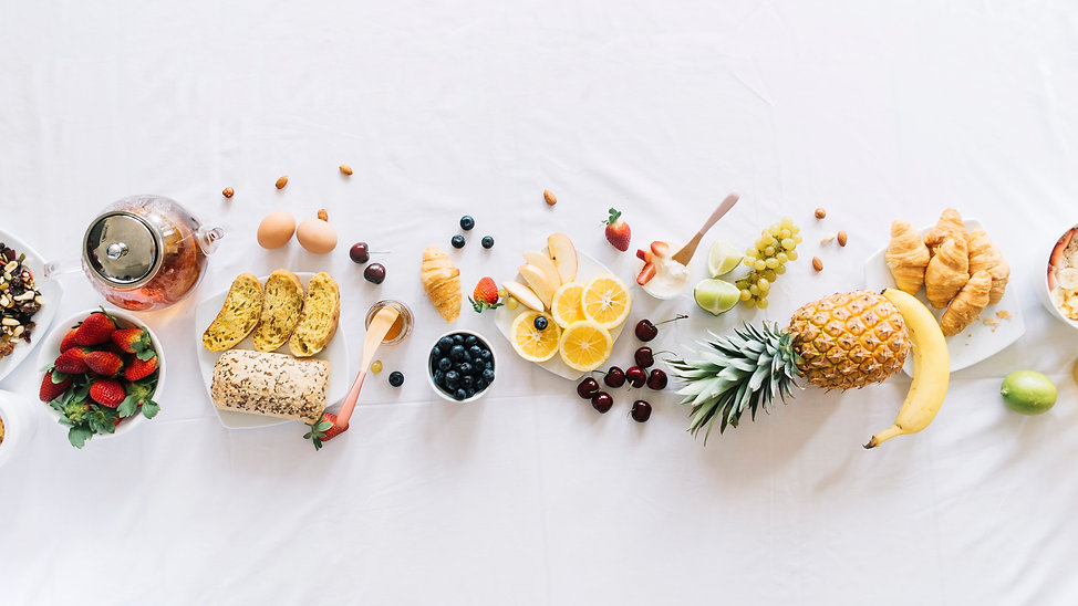 elevated-view-healthy-breakfast-white-ba