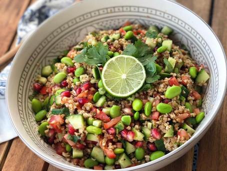 Bulgar Salad: Light, Good Carbs