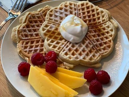 Low-Fat Breakfast Waffles