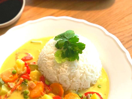 Anja's Vegetable Curry