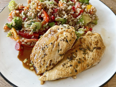 Chicken & Rainbow Medley Salad