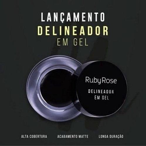 Delineador Em Gel Black – Ruby Rose