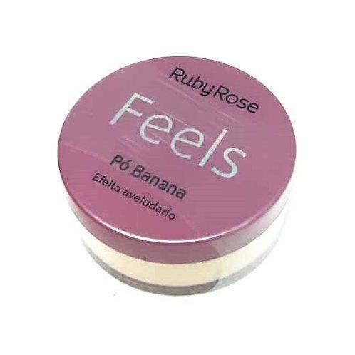 Pó de Banana Feels Ruby Rose HB-850