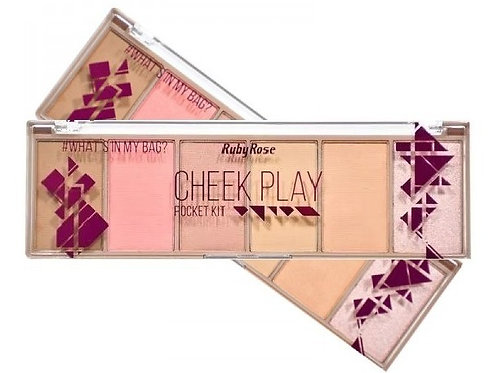 Paleta Pocket Cheek Play - Ruby Rose
