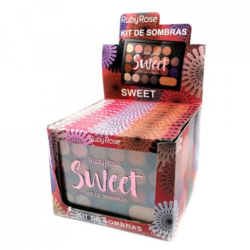 Paleta De Sombras Sweet - Ruby Rose